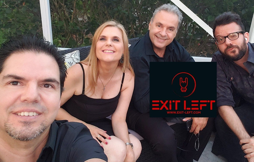 Exit Left Live Entertainment Rock Band for Private Party