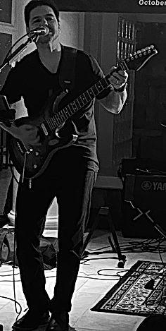 Exit Left Rock Band - Drew Ramirez Lead Vocals and Lead Guitar