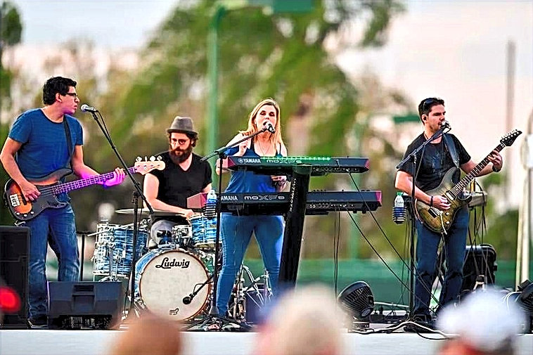 Rock Band Live on Stage - Best Rock Band for Hire in South Florida Exit Left