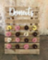 Photobooth Minden - Donut Wall als Candybar