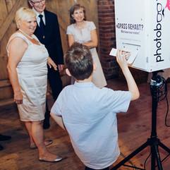 Photobooth Minden - Fotobox Scheunenhochzeit auf Hof Frien