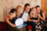 Photobooth Minden - Fotobox mieten für Scheunenhochzeit mit Traumfänger auf Hof Frien
