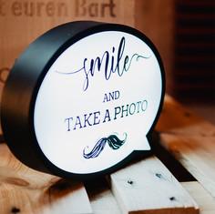 Photobooth Minden - Fotobox Beschilderung Hof Frien