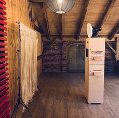 Photobooth Minden - Fotobox mit Makramee Scheunenhochzeit auf Hof Frien