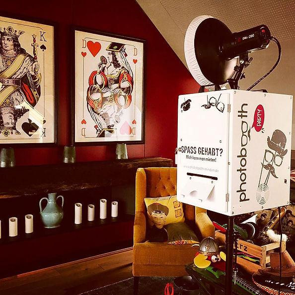 Photobooth Minden - Fotobox mieten