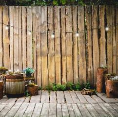 Fotobox Backdrop - Scheune