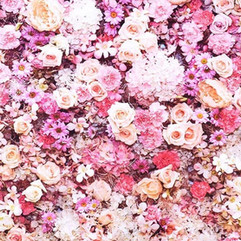 Fotobox Backdrop - Blumen