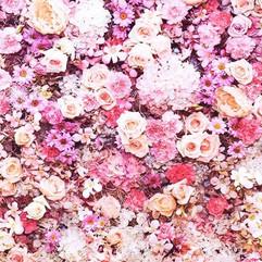 Fotobox Backdrop - Blumen