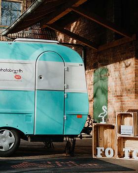 Photobooth Minden - Fotocaravan / Fotobox im Wohnwagen Hof Frien