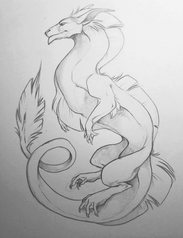 Flowy Dragon