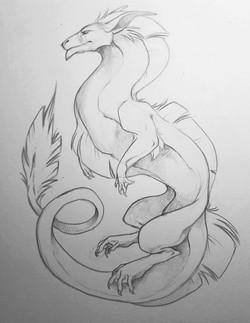 Flowy Dragon