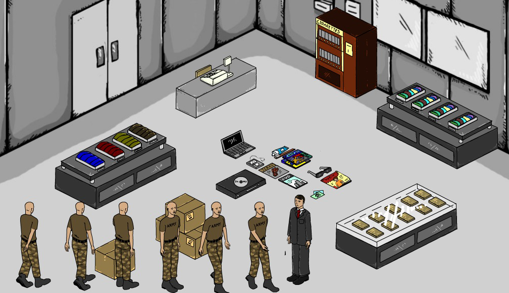 Isometric Game Scene