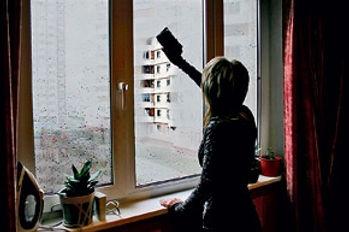 Запотевает окно