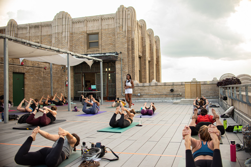 Philadelphia Event Photographer Philly Photography YogaPhiladelphia Event Photographer Philly Photography Yoga Bok Bar Rooftop