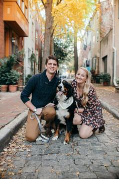 Fitler Square couples shoot philadelphia photographer