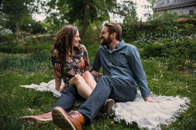 bartrams garden engagement shoot philadelphia photographer nature