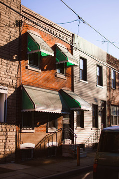 South Philly Shutter Philadelphia Photographer Art Print