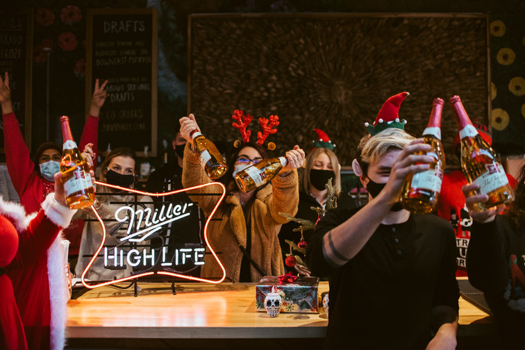 Philadelphia Event Photographer Philly Photography Miller High Life Santa