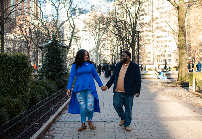philadelphia engagement shoot rittenhouse square philly photographer
