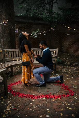 Proposal Photorapher Philadelphia Philly Photography Elfreth Alley She Said Yes