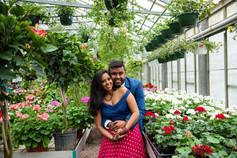engagement at otts exotic plants philadelphia metro area