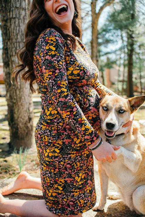 Maternity philly photographer family bucks country montgomery county philadelphia baby photos cherry hill New jersey dog