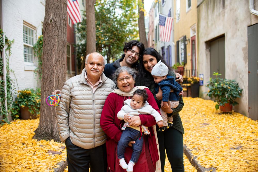 grandparents family photos philadelphia twins