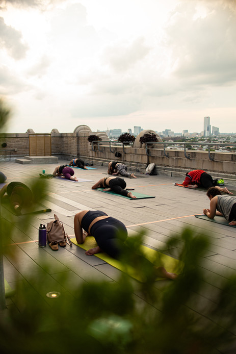 Philadelphia Event Photographer Philly Photography Yoga Bok Bar Rooftop