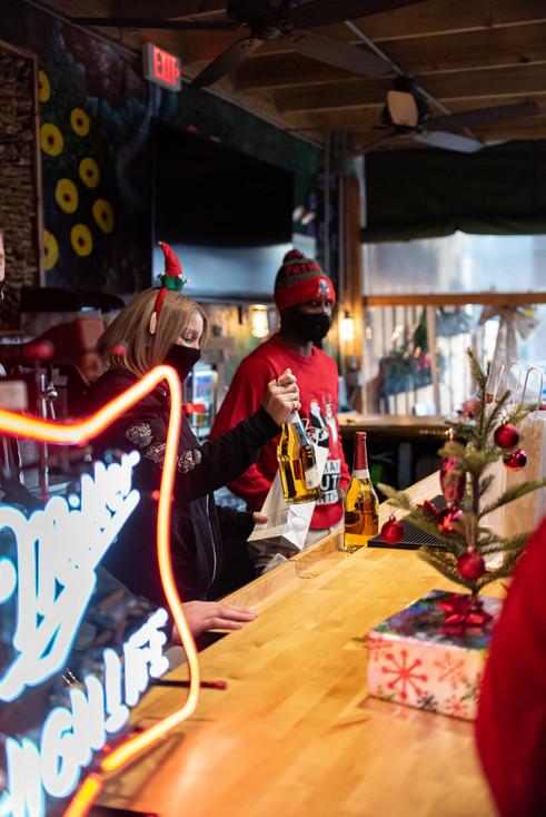 Philadelphia Event Photographer Philly Photography Miller High Life Santa