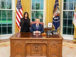 Donald Trump se reunió con ¡Kim Kardashian! Para discutir la reforma carcelaria