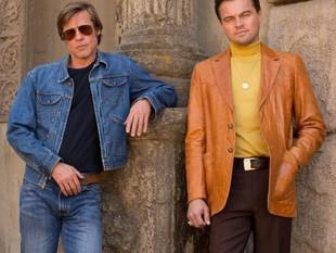 Leonardo DiCaprio muestra primera imagen con Brad Pitt en nueva película