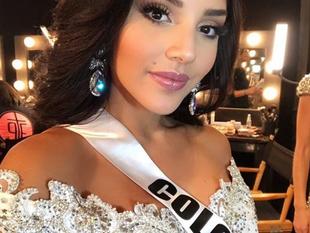 Miss Colombia se refirió a los rumores de su bisexualidad