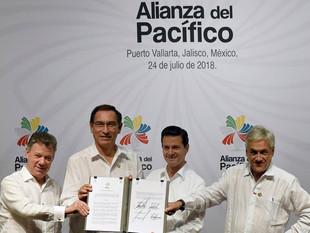 Ecuador fue aceptado como Estado Asociado en la Alianza del Pacífico