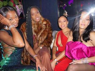 Fotos: Rihanna celebró sus 30 años con mega fiesta