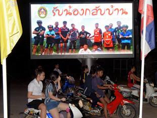 Niños rescatados en Tailandia permanecen en cuarentena