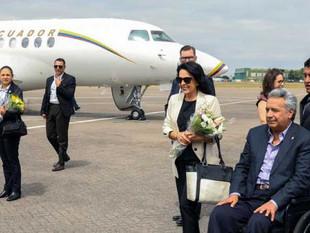 Lenín Moreno no encarga la Presidencia durante sus viajes internacionales