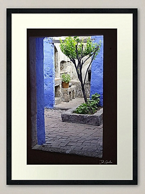 COLOURS OF SANTA CATALINA MONASTERY
