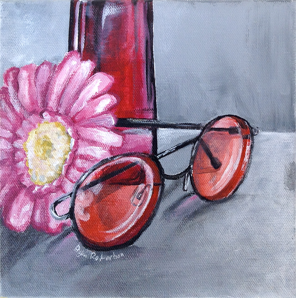 Title: Rose Colored Glasses
