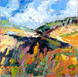 Title: Sunny Mountain Day