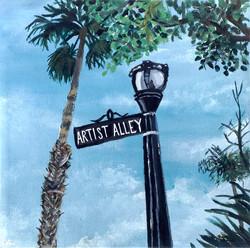 Title: Artist Alley