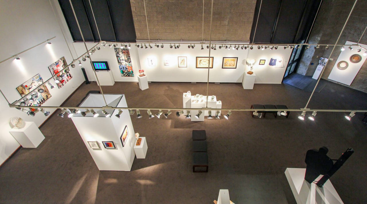 Faculty Exhibit 2019 Above Gallery
