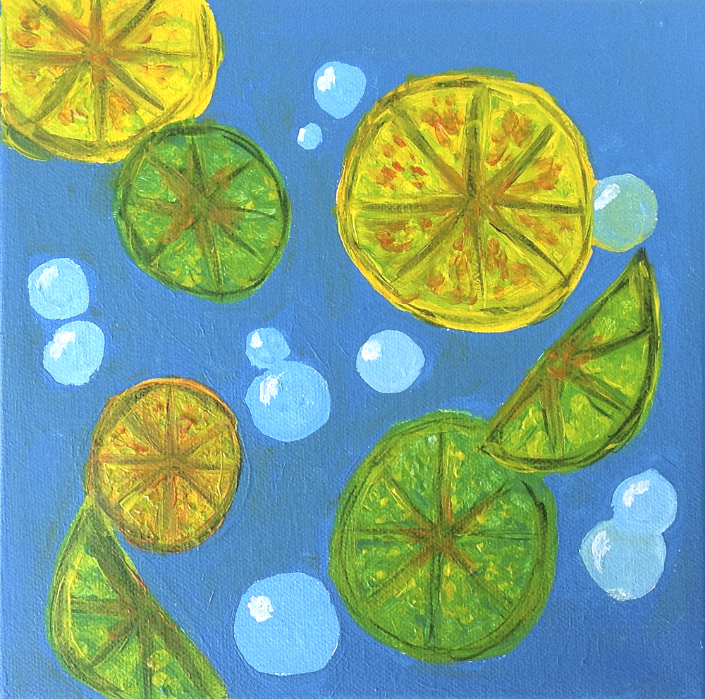 Title: Floating Citrus