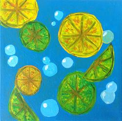 Title: Floating Citrus