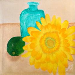 Title: Sunburst Sunflower
