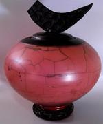 Title: Naked Raku Potter Vase