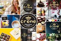 Title: Creme Cafe Mock Up