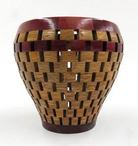 Title: Segmented Vase