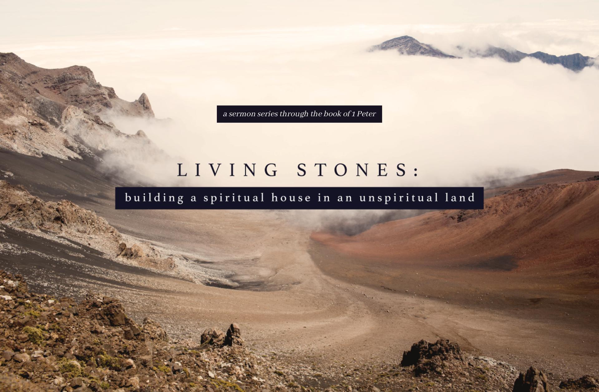 a sermon series through the book of 1 Pe