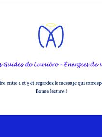 Les énergies de la semaine - 19/04/21 au 25/04/21