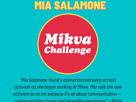 Activist Spotlight: Mia Salamone